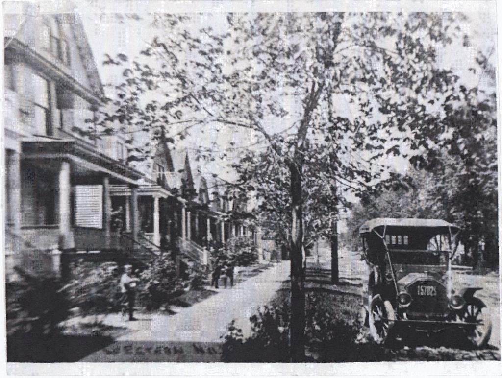 Western at Winnemac, circa 1908